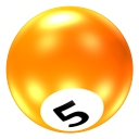 Ball 5 icon