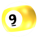 Ball 9 icon
