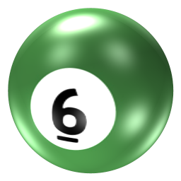 Ball 6 icon