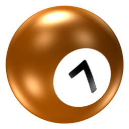 Ball 7 Icon Pool Ball Iconset Barkerbaggies
