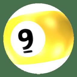 Ball 9 icon