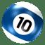 Ball-10 icon