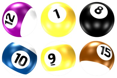Pool Ball Icons