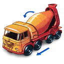 Foden-Concrete-Truck-with-Movement icon