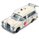 Mercedes Benz Ambulance with Open Boot icon