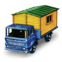Truck with Site Office icon