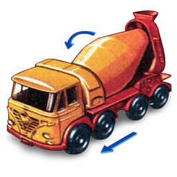 Foden Concrete Truck with Movement icon