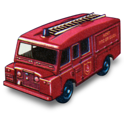 Land Rover Fire Truck icon