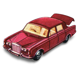 Rolls Royce Silver Shadow with Open Boot icon