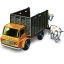Cattle Truck with Cattle icon