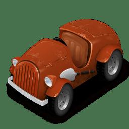 Orange Car icon