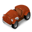 Orange Car icon