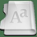 Aluminium font icon