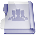 Purple group icon