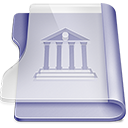 Purple-library icon