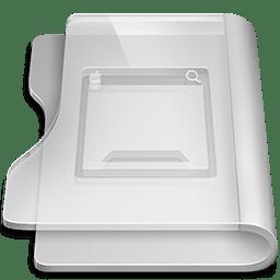 Aluminium desktop icon