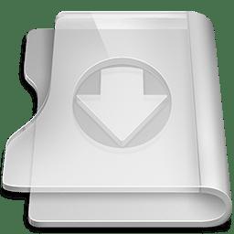 Aluminium download icon