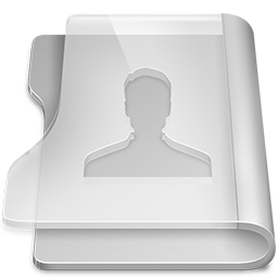 Aluminium user icon