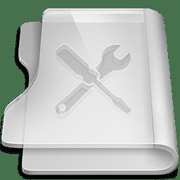 Aluminium utilities icon