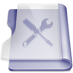 Purple utilities icon