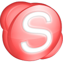 Skype red icon