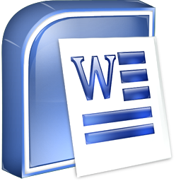 icons of microsoft word