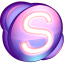 Skype-purple icon