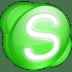 Skype-green icon