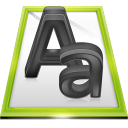 Files Font File icon