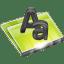 Folders-Font-Folder icon