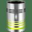Hardware-Trash-empty icon