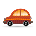 car orange icon