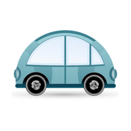 car blue icon