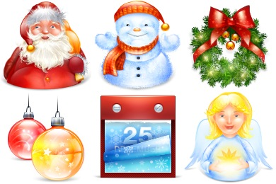 Xmas New Year 2011 Icons
