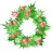Holly-garland icon