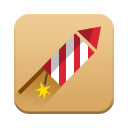 Rocket Fireworks icon