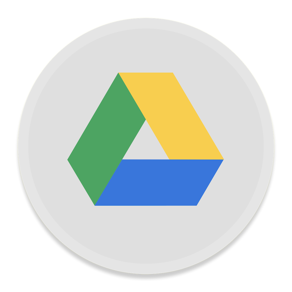 Google drive icon button ui app pack one iconset for Goodl