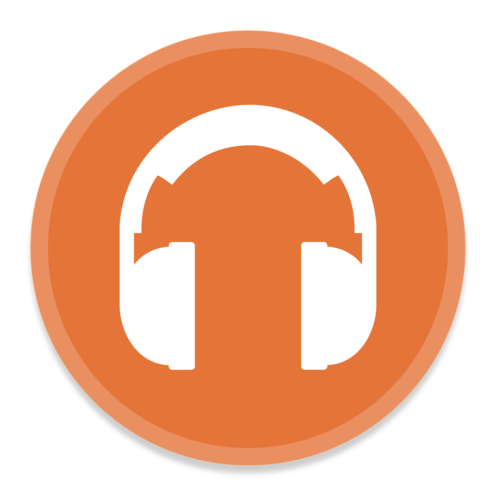 Google Music Manager Icon | Button UI App Pack One Iconset