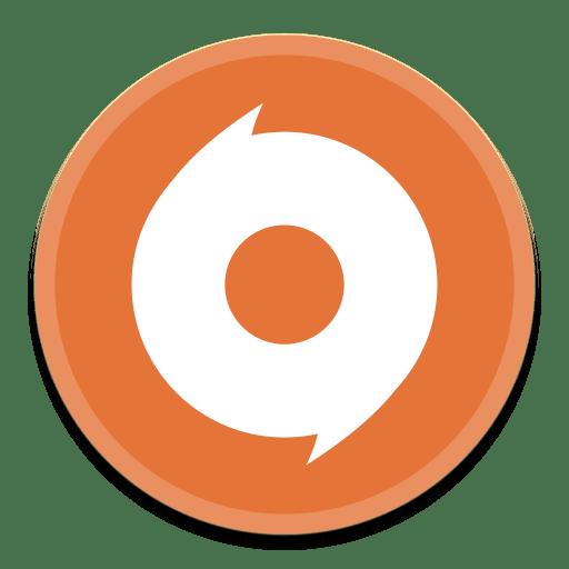 Origin Icon | Button UI App Pack One Iconset | BlackVariant