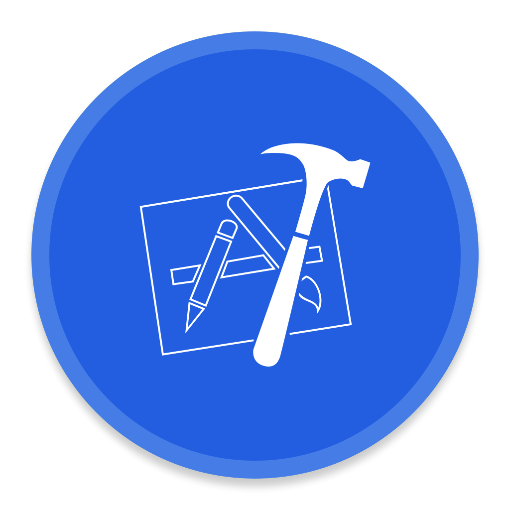 xcode icon button ui app pack two iconset blackvariant