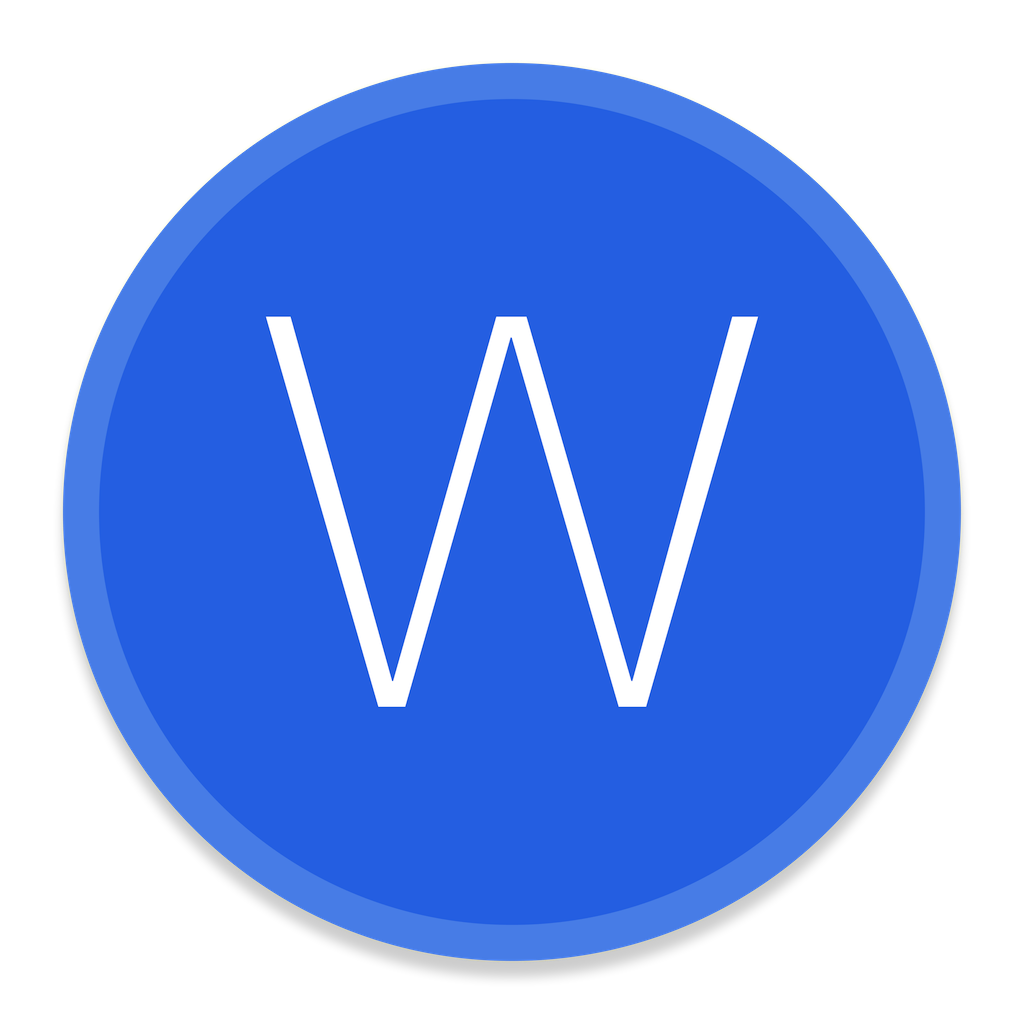 Microsoft Office Word Icon | Button UI Microsoft Office Apps ...