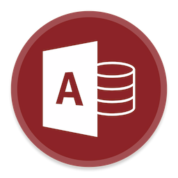 access 2 icon button ui ms office 2016 iconset blackvariant
