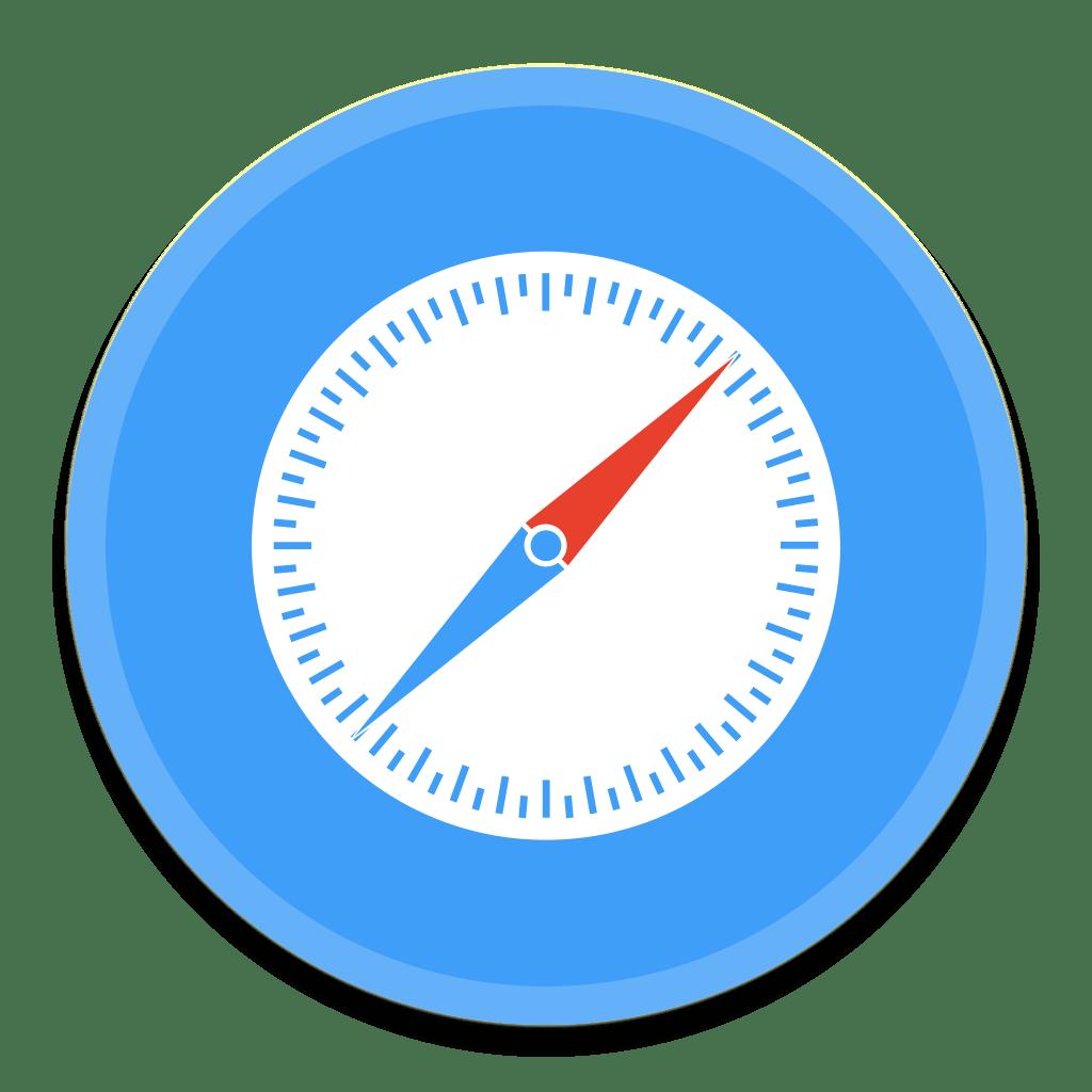 Safari 3 Icon   Button UI System Apps Iconset   BlackVariant