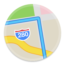 Maps 1 icon