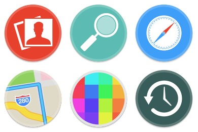 Button UI System Apps Icons