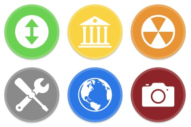 Button UI - Alt System Folders Icons