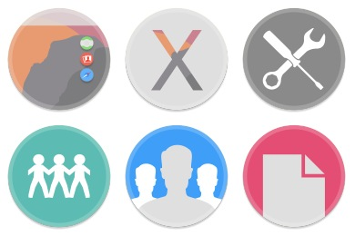Button UI System Folders & Drives Icons