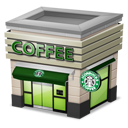 Shop Coffee cream icon