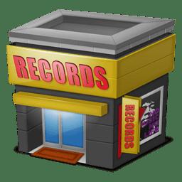 Shop Records icon