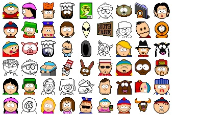 Southpark Icons
